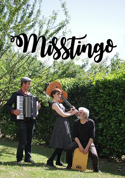 Réalisation pour mon groupe Misstingo (2017)